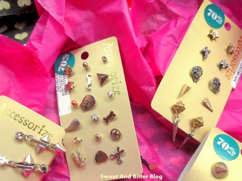 Accessorize Earring Sets India Haul