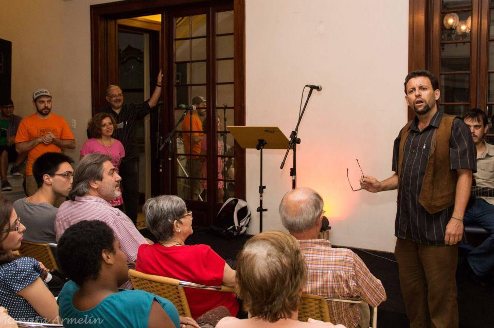 25 de Janeiro Casa das Rosas Poetas Ambulantes Sampa City