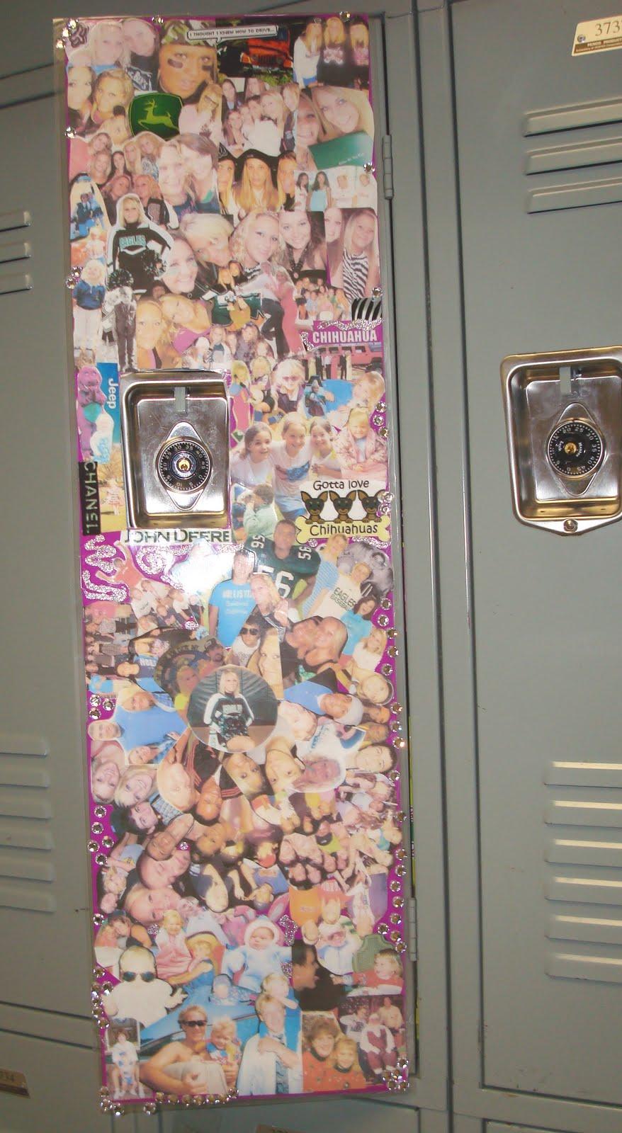 locker decorating ideas - photo #35