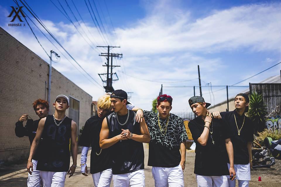 Monsta X Korean Boy Group