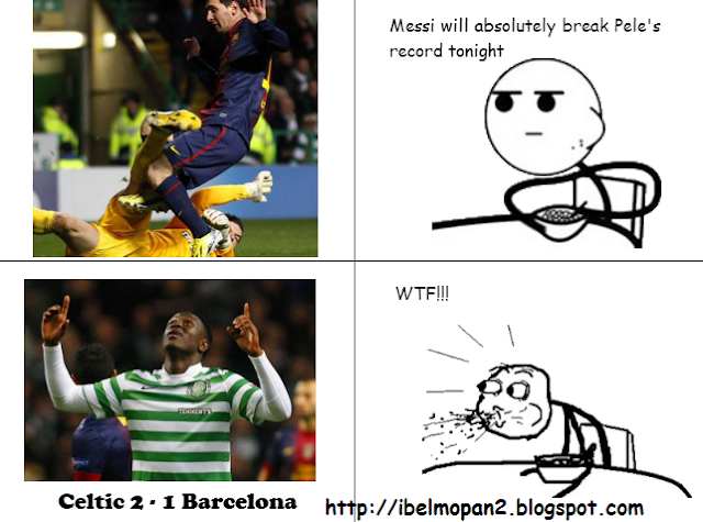 Celtic Vs Barcelona Meme