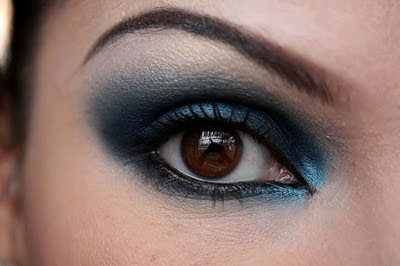 make up artist me midnight blue smokey eye. Black Bedroom Furniture Sets. Home Design Ideas