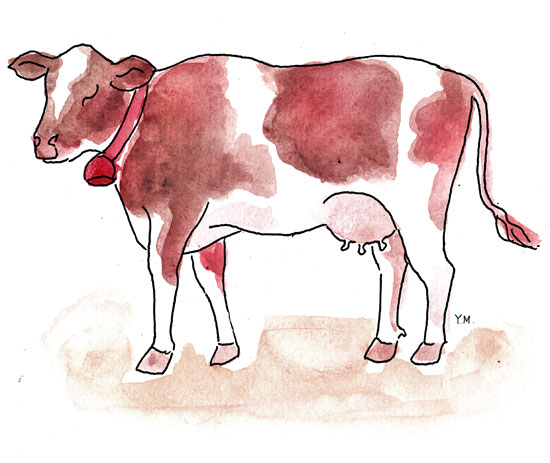 cow by Yukié Matsushita