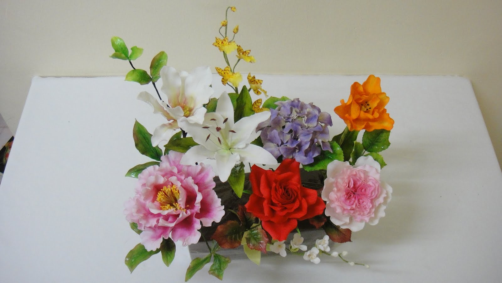 Cake Expressions & Sugarcraft: Floral Sugar Art: Jesuit from ...