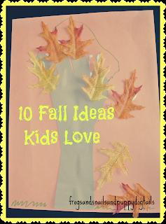 10 Fall Ideas Kids Love
