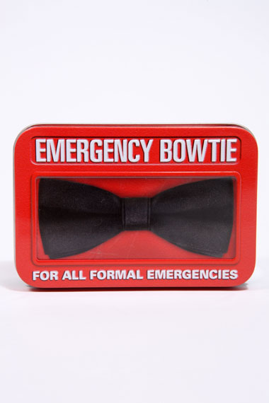 Emergency Bowtie - For All Formal Emergencies