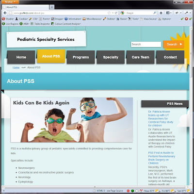 Screen shot of http://www.pss4kids.com/about-pss.
