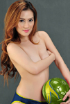 Topless Photo of Aica Sy