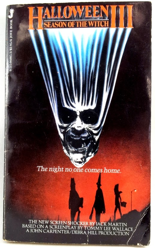 Book Review: Halloween III: Season of the Witch (novelization) by ...