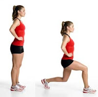 Tone-Butt-Forward-Lunge