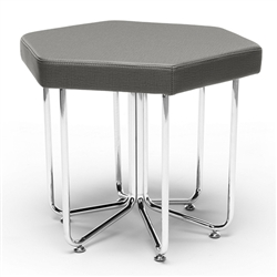 OFM Hex Stool in Slate
