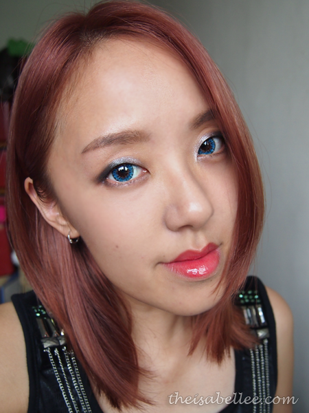 Night time makeup with NARS Dual-Intensity Eyeshadow