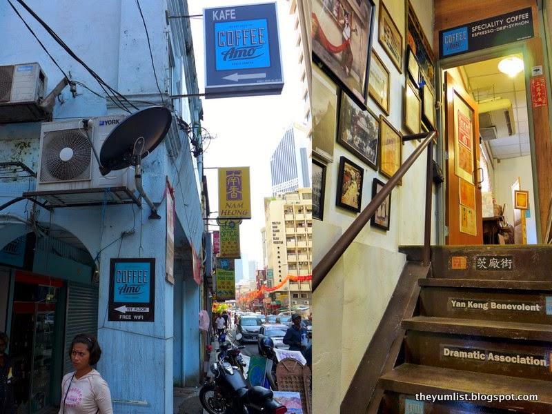Coffee Amo, pudu, chinatown