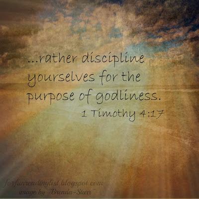 Daily Disciplines forfunreadinglist.blogspot.com
