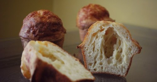 Sourdough Cheesy Popovers - The Gingered Whisk