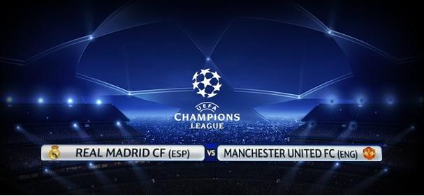 Champions League 2013 Huitième de finale Regarder Match En Direct sur Aljazeera sport Resume et score Real Madrid vs Manchester United Le 13/02/2013
