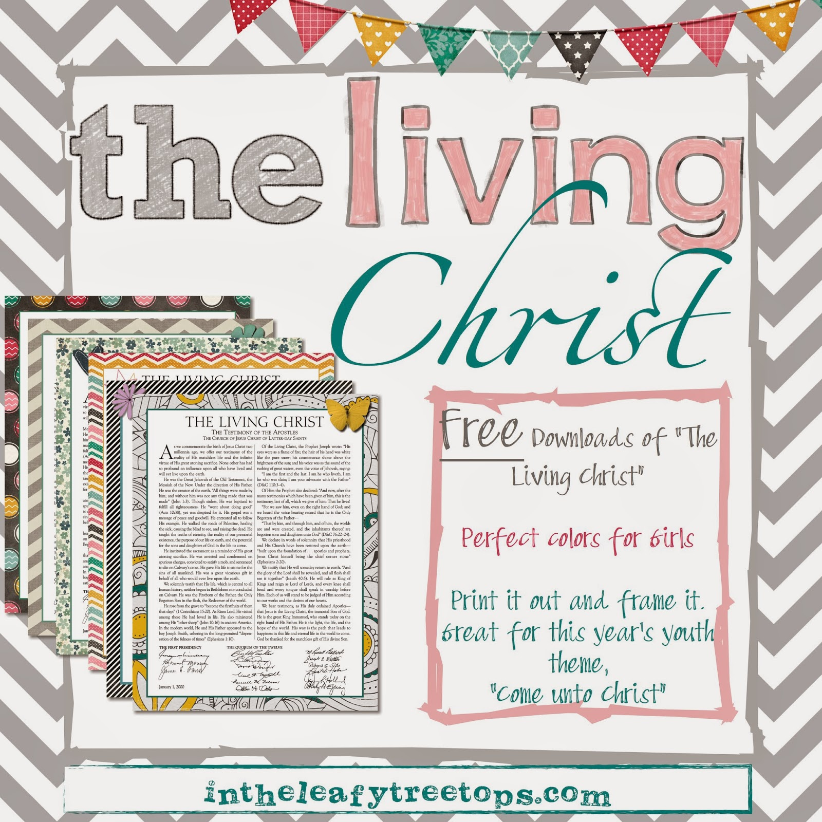 It's just an image of Simplicity The Living Christ Free Printable