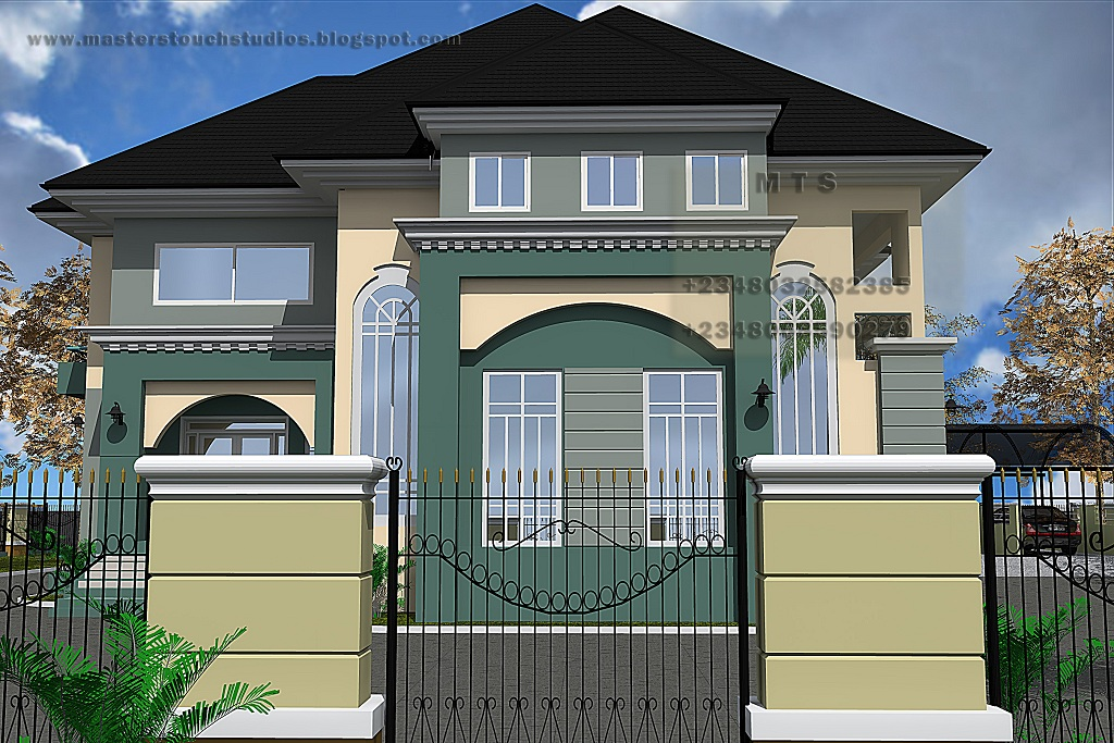 5 Bedroom Duplex Residential Homes And Public Designs