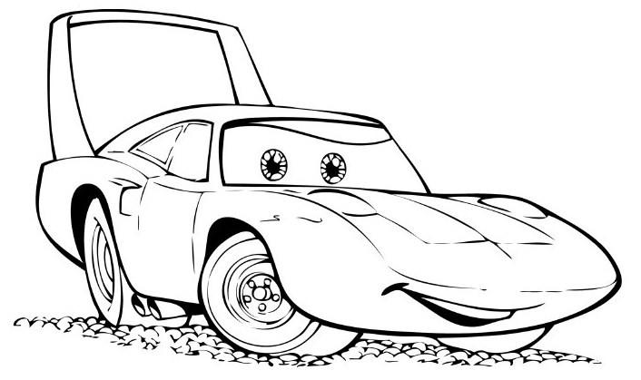 Desenhos de carros para colorir | Ultra desenhos gratis