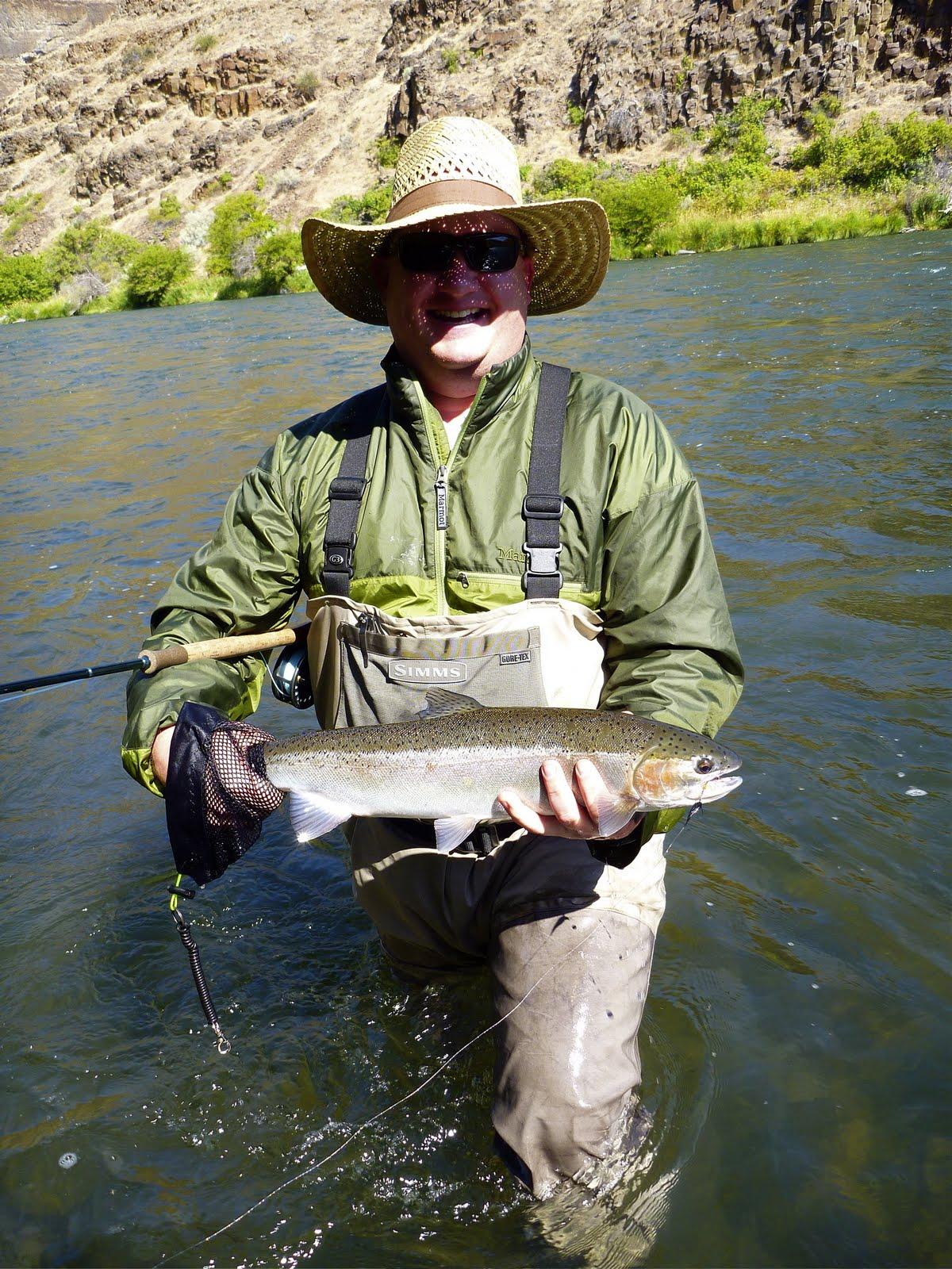 Silvey 39 s flyfishing deschutes steelhead report for Deschutes river fishing report