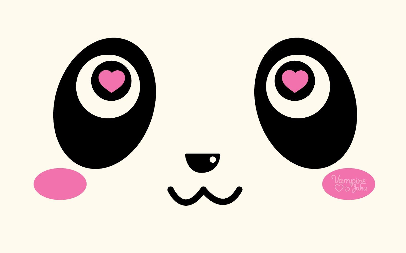 Good Wallpaper Minecraft Kawaii - Panda_Face_Loves_You_Wallpaper_by_VampireJaku  Pic_31786.jpg
