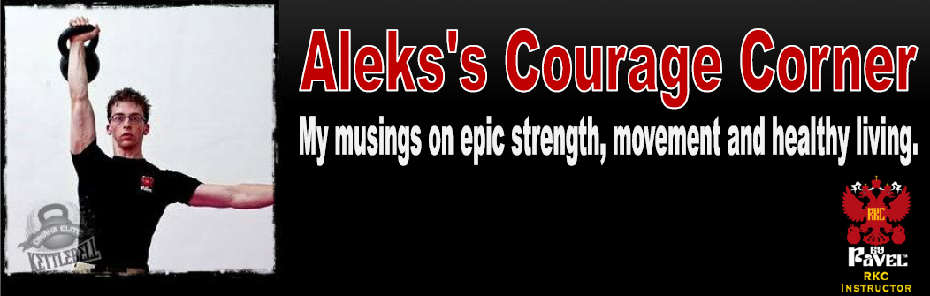 Aleks's Courage Corner