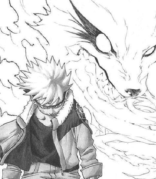 Hermosa Naruto Para Colorear Nueve Zorros De Cola Imagen - Ideas ...