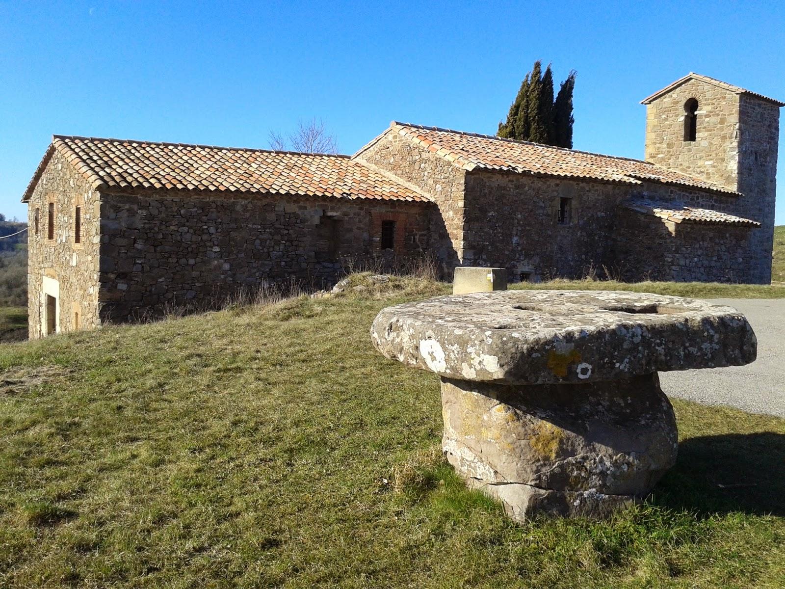 Ermita de Sant Cugat de Gavadons (El repte dels 100 cims)