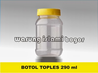 Jual Botol Toples Merica dan Jahe Instant