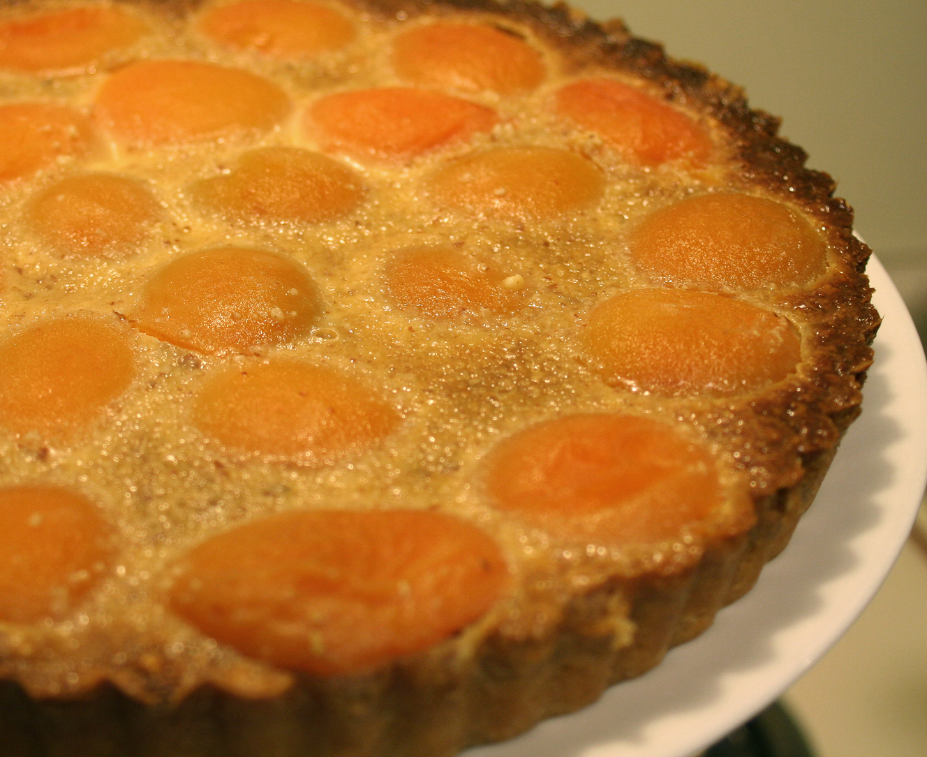 Apricot Almond Tart - Tarte Abricots Amandes Recipes — Dishmaps
