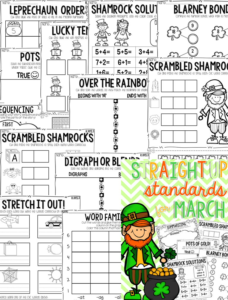 http://www.teacherspayteachers.com/Product/Straight-Up-Standards-for-March-Printables-1116177