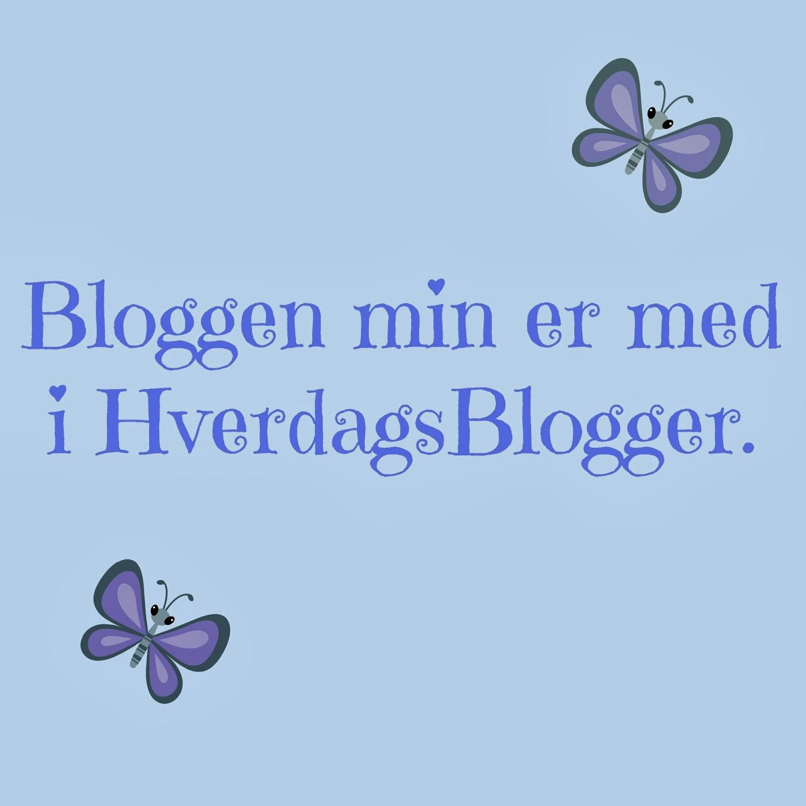 Bruk dette bildet for å linke til HverdagsBlogger fra din blogg. Husk å legge til link på bildet:-)