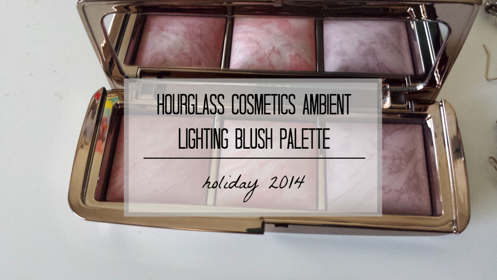 FIRST IMPRESSIONS, Holiday 2014, Hourglass Cosmetics Ambient Lighting Blush Palette