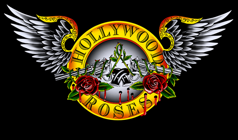 Guns n roses one and one is three band name explained guns n roses explained hollywood roses logo altavistaventures Gallery