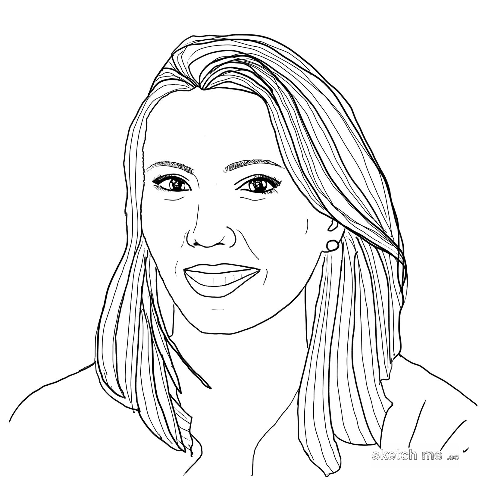 ana-pastor-sketch-me-retratos-personalizados-dibujados-a-mano-para-facebook-twitter-whatsapp
