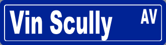 Turn on Vin Scully Avenue Turn on Vin Scully Avenue Vin 2BScully 2BAve