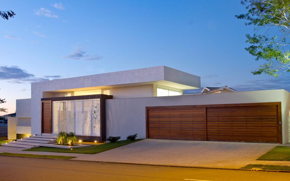 Arquitetura decora o and madeira on pinterest for Casa minimalista grande