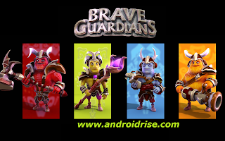 Brave Guardians Android Game Download,3D action fantasy defense