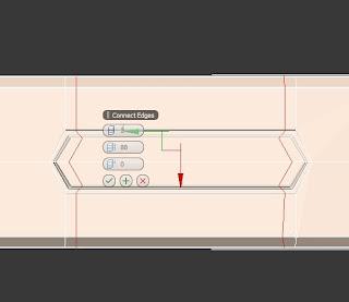 Añadir aristas en el botón para impedir la deformación de turbosmooth en 3ds max