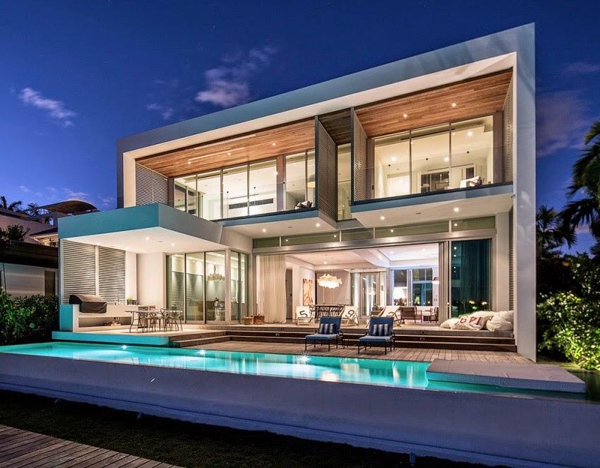 Casa Moderna de Concreto Diseñada por Max Strang Arquitectura