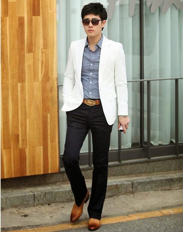 gambar model blazer pria