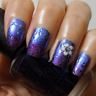 OPI Into the Night, Polka.com and Orly Miss Conduct