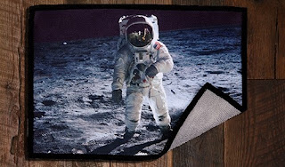Microfiber Cleaning Cloth Space Buzz Aldrin