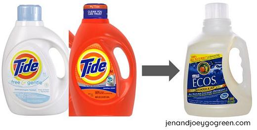 Go Green: Switching to Non-Toxic Laundry Detergent