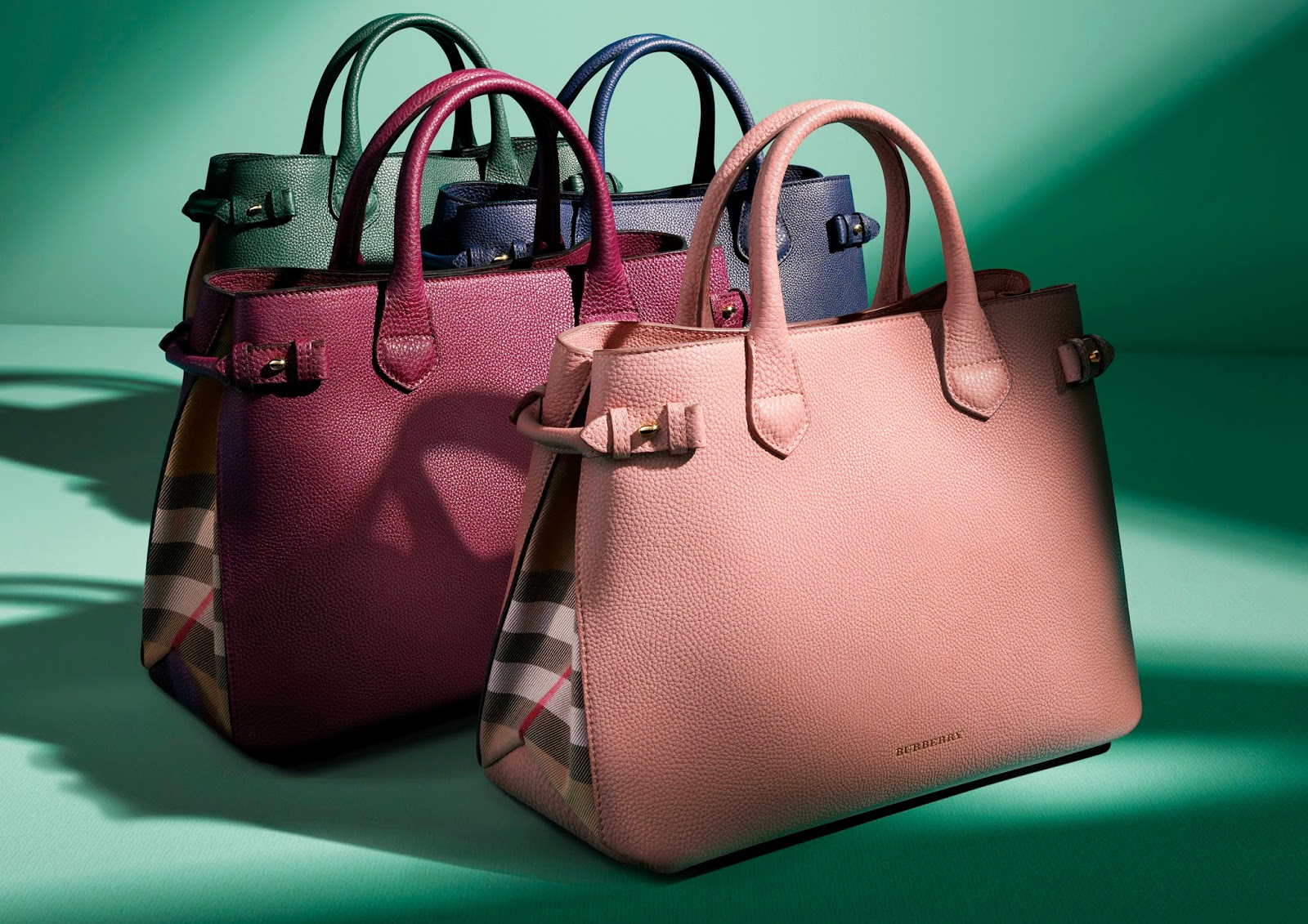 Burberry Introduces The Banner Bag