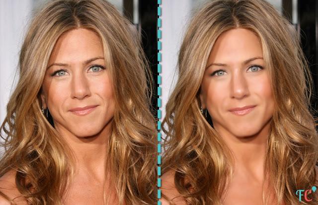 Jennifer-Aniston beauty face