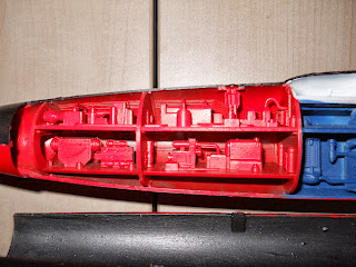 reproducción del interior de un submarino nuclear
