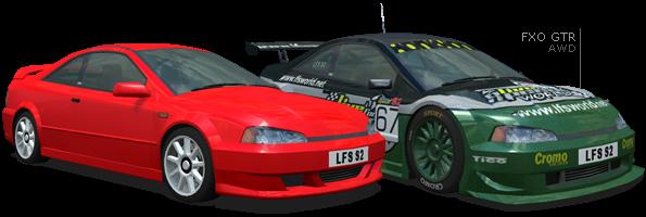 LFS ORIGINAL FX CARS