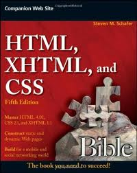 HTML XHTML and CSS Bible    ebook