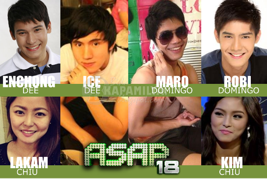 ASAP 18 Fiercer with Siblings Enchong and Ice Dee, Robi and Maro Domingo and Kim and Lakam Chiu (May 19)